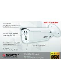 Camera HDCVI BEN-CVI 1280BM