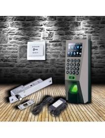 Bộ sản phẩm kiểm soát ra vào & chấm công dùng vân tay & thẻ ACS-Standard 2 sử dụng Ronald Jack F18
