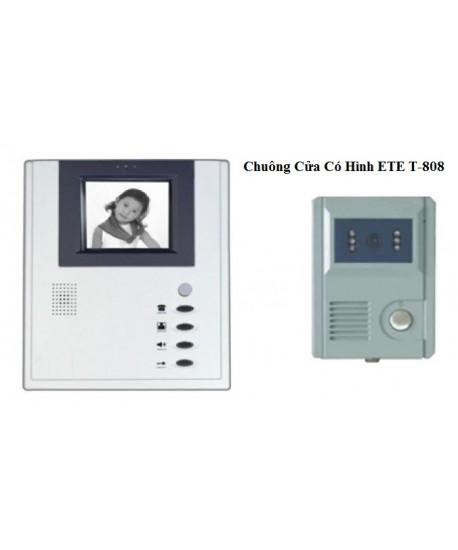 Chuông cửa có hình có dây T-808CA