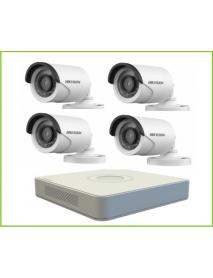 Camera  HD-TVI  720p hình trụ hồng ngoại DS-2CE16C0T-IR