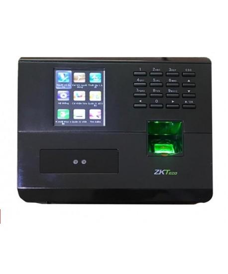 Máy chấm công kiểm soát nhận diện khuôn mặt, vân tay ZKteco MB10