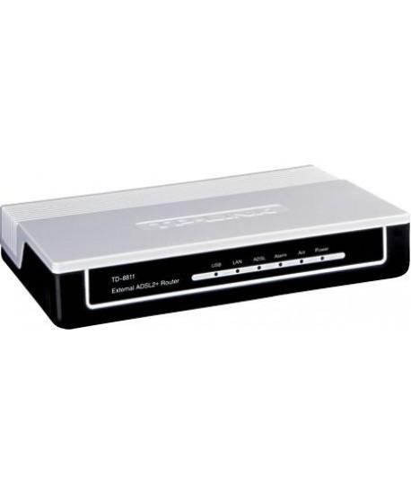 Fax Modem TP-link ADSL2+ / 1 Port Ethernet+ 1 port USB / Router / Gateway / Firewall ( TD-8811/ 8817)